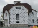 Штукатурный фасад с имитацией фахверка